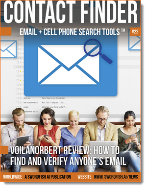 Contact Finder - Email + Cell Phone Search Tools - Issue #22