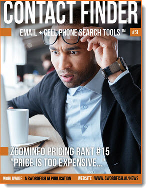 Contact Finder - Email + Cell Phone Search Tools - Issue #51