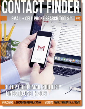 Contact Finder - Email + Cell Phone Search Tools - Issue #86