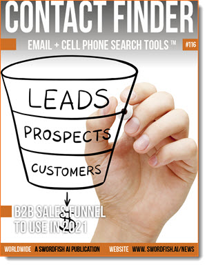 Contact Finder - Email + Cell Phone Search Tools - Issue #116